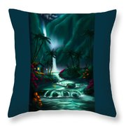 Tropical Vacation  Throw Pillow