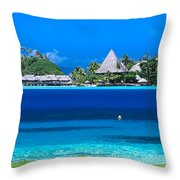 Tropical Views, Throw Pillow