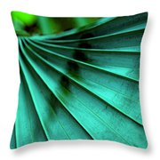 Tropical Wings Throw Pillow