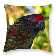 Tropical Wonder Throw Pillow
