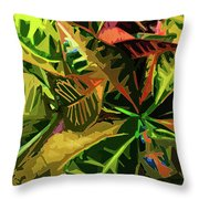 Tropicale Throw Pillow