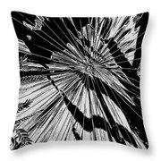Tropix Noir Throw Pillow