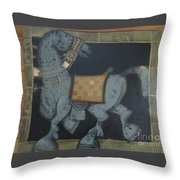 Trotter I Throw Pillow