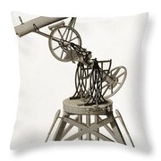 Troughton Equatorial Telescope, 19th Throw Pillow