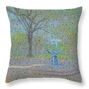 Troup Square  Throw Pillow
