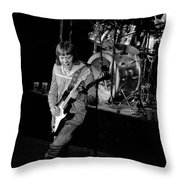 Trower At Winterland Throw Pillow