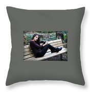 Trs3 Throw Pillow