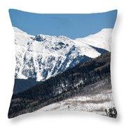 Truchas Peak Throw Pillow