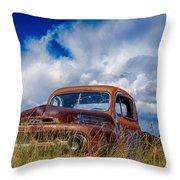Truck Heaven Throw Pillow