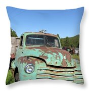 Truck Montana Throw Pillow