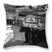 Trucks And Sky Throw Pillow