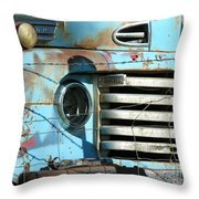 Trucks Life Throw Pillow