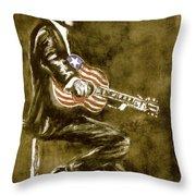 True American Throw Pillow
