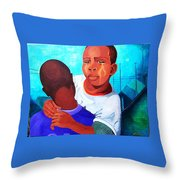 True Brotherly Love Throw Pillow