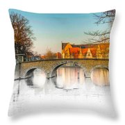 True Colors Of Amsterdam Throw Pillow
