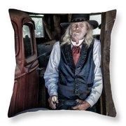 True Grit Throw Pillow