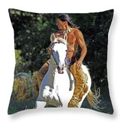 True Horsemen Throw Pillow