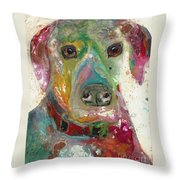 True Hue Throw Pillow