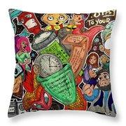 True Style Throw Pillow