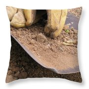 True Work Throw Pillow
