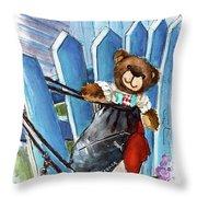 Truffle Mcfurry In Runswick Bay Throw Pillow