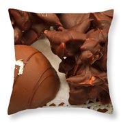 Truffles Throw Pillow