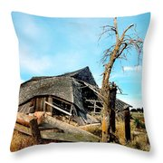 Truly Abandoned Throw Pillow