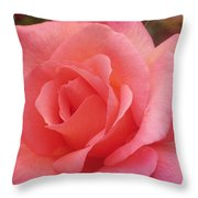 Truly Pink  Throw Pillow