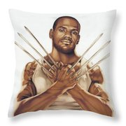 Truly Uncanny Throw Pillow