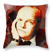 Truman Capote, Literary Legend Throw Pillow