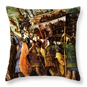 Trumpeters 1506 Throw Pillow