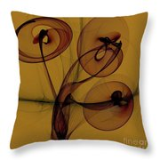 Trumpets Of Jericho Throw Pillow