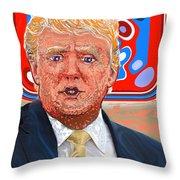 Trumpfffffft  Throw Pillow