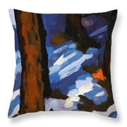 Trunks Throw Pillow