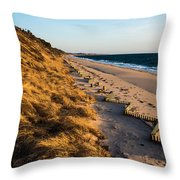 Truro In March Throw Pillow