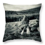 Trust Egg Throw Pillow