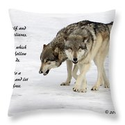 Trust In Yourself Throw Pillow