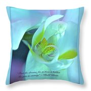 Trust The Dreams Throw Pillow