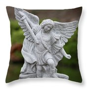 Truth And Justice Throw Pillow