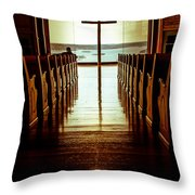 Truth And The Light  Throw Pillow by Kim Loftis