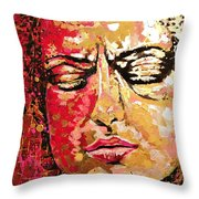 Truth Is Eternal, Asian Painting Throw Pillow