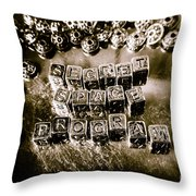Truth Is Stranger Than Fiction Throw Pillow