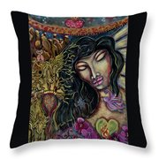 Truth Seer Throw Pillow