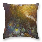 Truth Shall Spring Out Of The Earth And Righteousness Shall Look Down From Heaven Throw Pillow