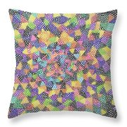 Try Angles Of Circles Throw Pillow