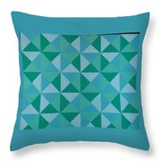 Trying Any Angle Throw Pillow