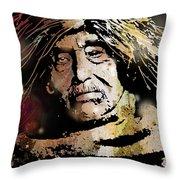 Tsawatenok Man Throw Pillow