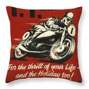 Tt Races 1961 Throw Pillow
