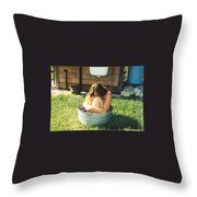 Tub 012 Throw Pillow