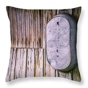 Tub For Two Throw Pillow by Carolyn Marshall